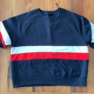 PacSun striped sweatshirt